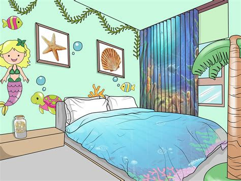 How to Give Your Bedroom an Ocean Mermaid Theme 12 Steps