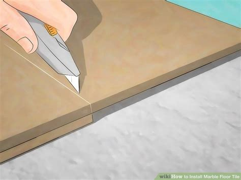How to Install Marble Floor Tile with Pictures wikiHow