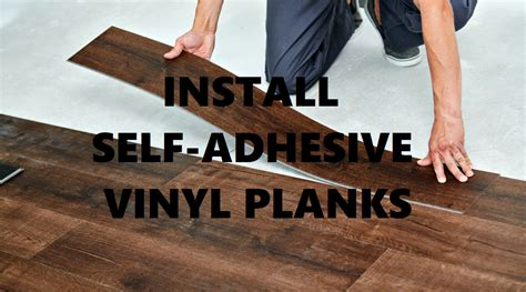 How to Install Self Adhesive Vinyl Tile on a Concrete