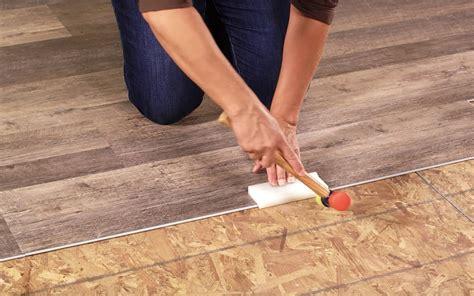 How to Install Vinyl Tiles Over Ceramic Tiles in the