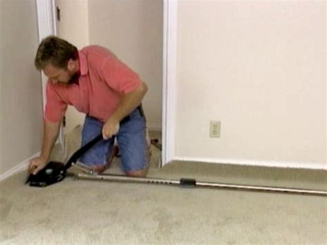 How to Install Wall to Wall Carpet how tos DIY Network