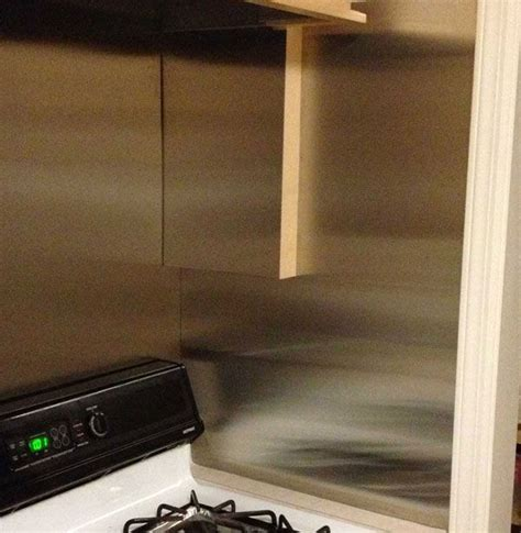 How to Install Your Own Stainless Steel Backsplash Sheet