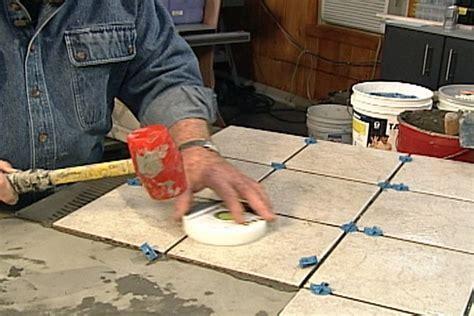 How to Install a Bathroom Tile Floor Ron Hazelton Online