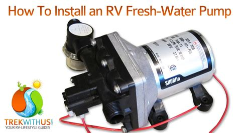 wiring diagram for caravan water pump images how to install a shurflo fresh water pump rv diy