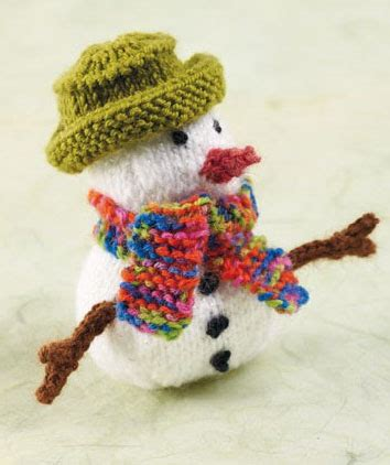How to Knit a Mini Snowman Hobbycraft Blog