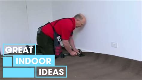 How to Lay Carpet Indoor Great Home Ideas YouTube