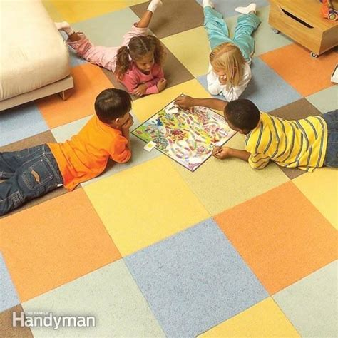How to Lay Carpet Squares Family Handyman
