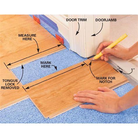 How to Lay Laminate Flooring Family Handyman