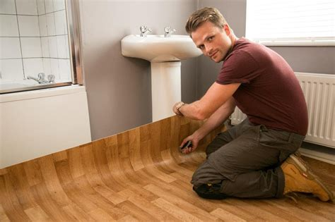 How to Lay Vinyl Floor Tiles in the Bathroom Home Guides