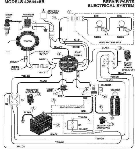wiring diagram craftsman riding lawn mower images riding mower how to locate a wiring diagram for a riding lawnmower