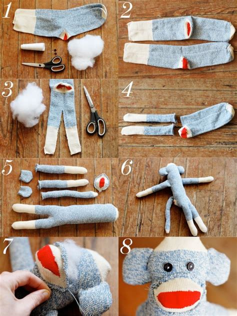 How to Make Sock Monkey Crafts to with Kids