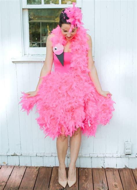 How to Make a Pink Flamingo Halloween Costume