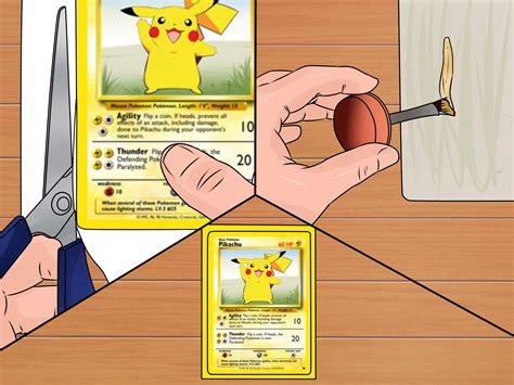 How to Make a Pok mon Card with Pictures wikiHow