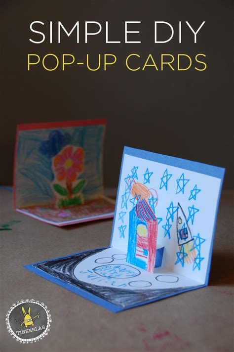 How to Make a Pop Up Card in Three Easy Steps My Kids