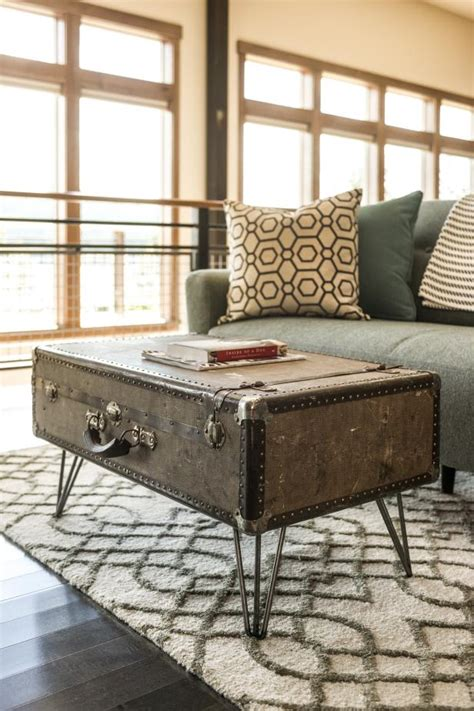 How to Make a Suitcase Coffee Table how tos DIY