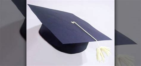 How to Make a paper graduation cap with your kids More