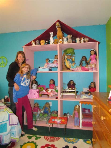 How to Make an American Girl Doll House with Pictures