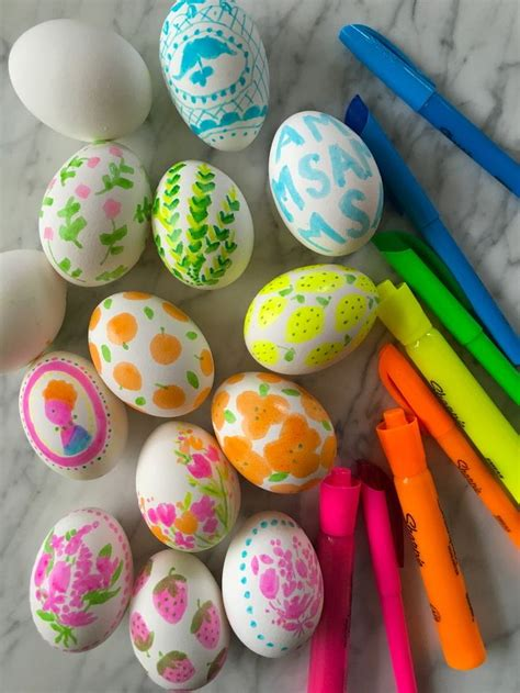 How to Paint Easter Eggs Crafts DIY Activity Decorate