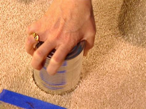 How to Patch an Area of Carpeting how tos DIY