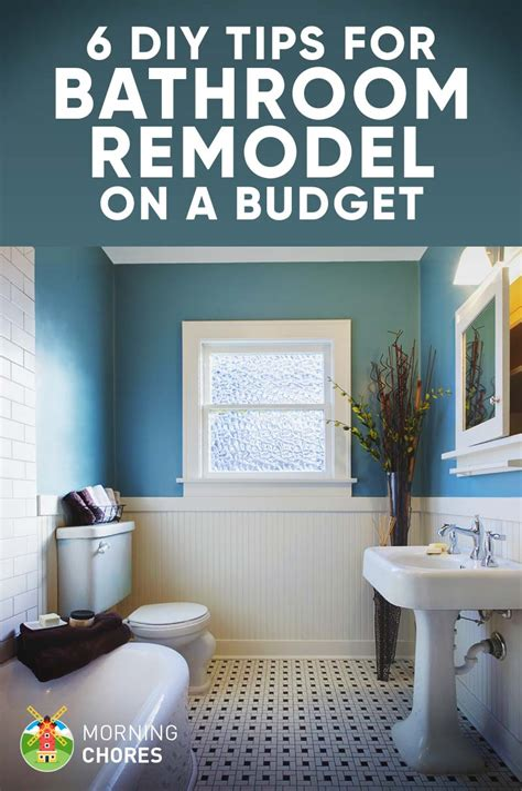 How to Remodel a Bathroom DIY Bathroom Remodeling