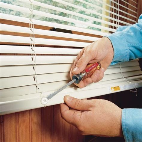How to Remove Horizontal Window Blinds Blinds Chalet