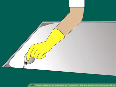 How to Remove Latex Rubber Carpet and Tile wikiHow