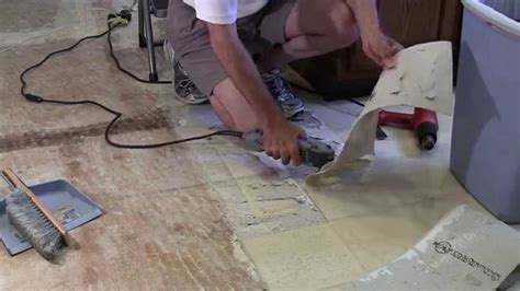 How to Remove Linoleum Tile Adhesive Paper From Wood