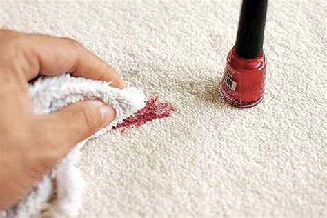 How to Remove Nail Polish from Carpet Cleanipedia