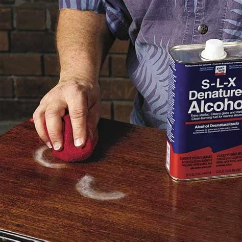How to Remove Watermarks on Wood Fix Furniture Scratches Fast