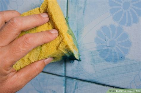How to Repair Tile 6 Steps with Pictures wikiHow
