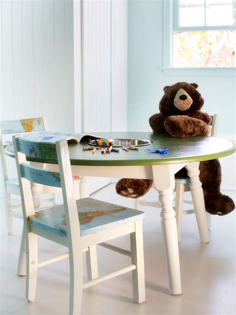 How to Repurpose a Dining Table into a Kids Activity