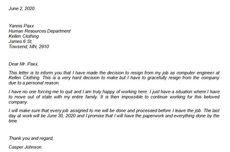 How to Resign Gracefully with Sample Resignation Letters