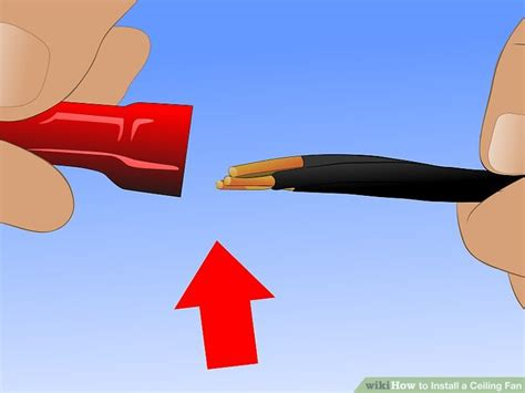 How to Safely Install a Ceiling Fan wikiHow