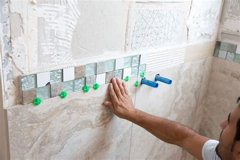 How to Tile Bathroom Walls and Shower Tub Area