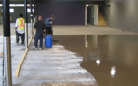 How to Use Self Leveling Cement to Level a Large Concrete