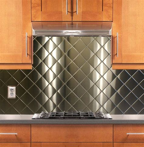 How to Use Stainless Steel Sheets as a Backsplash Home