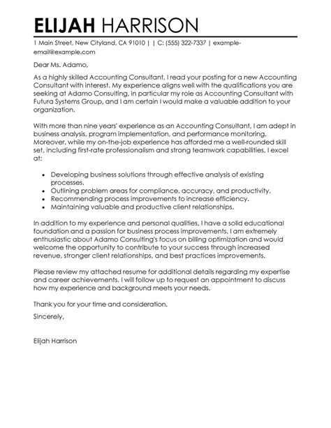 How to Write a Consulting Cover Letter Case Interview