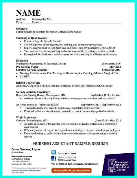 How to Write a Winning CNA Resume Objectives Skills
