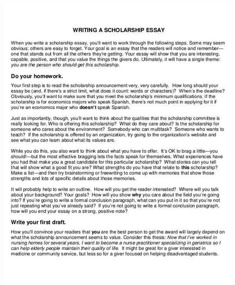 All Children Can Write  Ld Topics  Ld Online Sample Winning  Write A Draft For Your Scholarship Application Essay Read More Sample  Winning Scholarship Essays