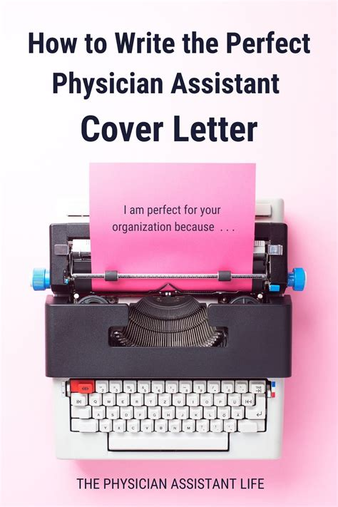 How to Write the Perfect Physician Assistant School