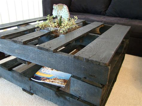 How to create a coffee table out of a pallet Help
