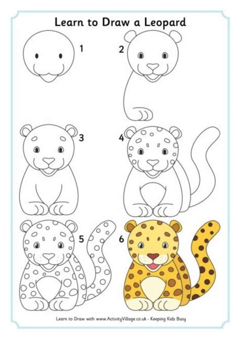 How to draw EASY ANIMALS easy step by step drawing tips