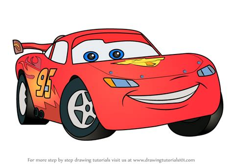 How to draw Lightning McQueen Super Coloring