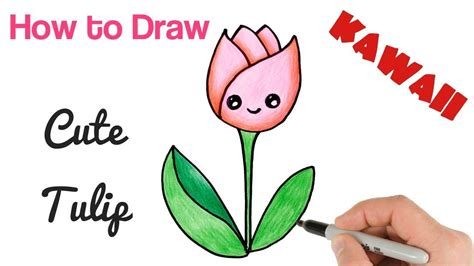 How to draw a easy simple and cute flower