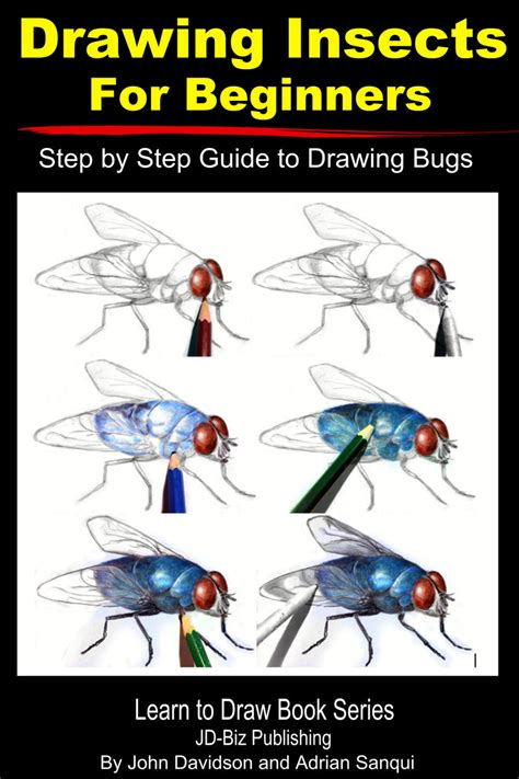 How to draw bugs step by step animals with our FREE