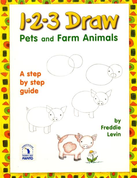 How to draw farm animals step by step animals with our