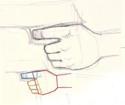 How to draw hand holding gun drawing and digital