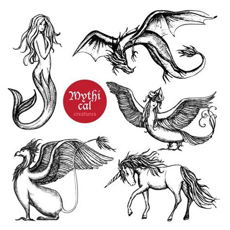 How to draw mythical beasts step by step with our FREE