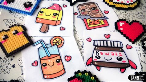 How to draw nice Food easy Drawings and kawaii Nutella