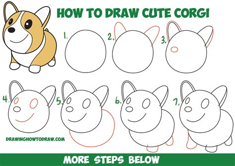 How to draw pets step by step animals with our FREE